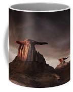 Bisti Badlands, New Mexico, Usa Coffee Mug