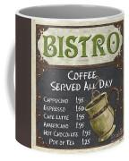 Bistro Chalkboard  Coffee Mug