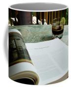 Bistro Table Study, Balcony Garden, Hunter Hill, Hagerstown, Mar Coffee Mug
