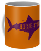 Bite Me Coffee Mug by Michelle Calkins