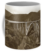 Bixby Creek Aka Rainbow Bridge Bridge Big Sur Photo  1937 Coffee Mug