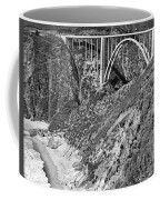Bixby Creek Bridge Big Sur Photo  Circa 1939 Coffee Mug