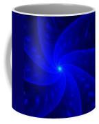 Bkue Pinwheel Coffee Mug