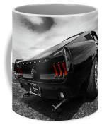 Black 1967 Mustang Coffee Mug