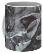 Black Abstract Coffee Mug