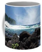 Black And Blue Coffee Mug