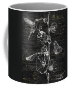 Black And Gold Hummingbirds 2 Coffee Mug