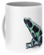 Black And Green Poison Dart Frog Coffee Mug