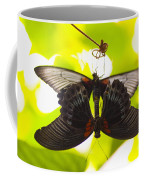 Black And Red Butterflies Coffee Mug