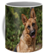 Black And Red German Shepherd Dog Coffee Mug