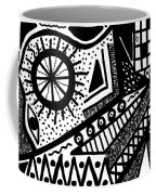 Black And White 15 Coffee Mug