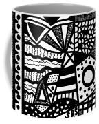 Black And White 19 Coffee Mug