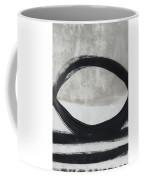 Black And White Abstract 2- Art By Linda Woods Coffee Mug