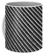 Black And White Abstract Lines Coffee Mug