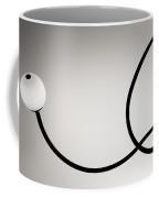 Black And White Abstract Photography Coffee Mug