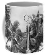 Black And White Anchor Coffee Mug