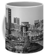 Black And White Baltimore Coffee Mug