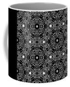 Black And White Boho Pattern 3- Art By Linda Woods Coffee Mug