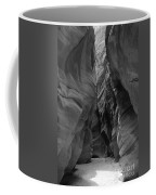 Black And White Buckskin Gulch Coffee Mug