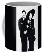 Black And White Couple Coffee Mug