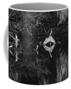 Black And White Cyclops Coffee Mug