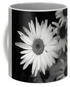 Black And White Daisy 1 Coffee Mug