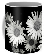 Black And White Daisy 2 Coffee Mug