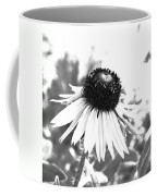 Black And White Daisy Coffee Mug