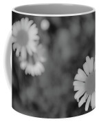 Black And White Daisy Coffee Mug