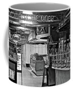 Black And White Diner Coffee Mug