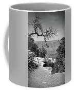 Black And White Grand Canyon 2 Coffee Mug