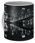 Black And White Lights Coffee Mug