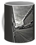 Black And White Lonely Road Coffee Mug