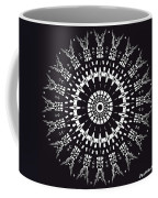 Black And White Mandala No. 1 Coffee Mug