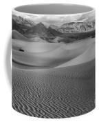 Black And White Mesquite Sand Dunes Coffee Mug