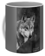 Black And White Mexican Wolf #4 Coffee Mug