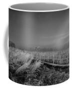 Black And White Misty Morning October Coffee Mug