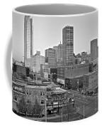 Black And White Okc  Coffee Mug