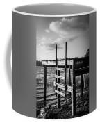 Black And White Old Time Dock Coffee Mug