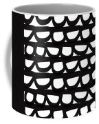 Black And White Pebbles- Art By Linda Woods Coffee Mug