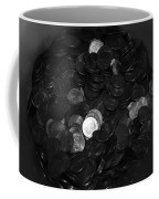 Black And White Pennies Coffee Mug