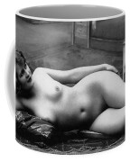 Black And White Photo Of Female Erotic Nude Coffee Mug