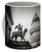 Black And White Photography - Berlin - Gendarmenmarkt Square Coffee Mug