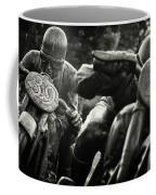 Black And White Photography - Motorcyclists Coffee Mug