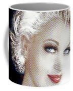 Black And White Red Lips Coffee Mug