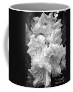 Black And White Rhododendron Coffee Mug