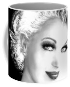 Black And White Smile Coffee Mug