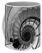 Black And White Spiral Coffee Mug