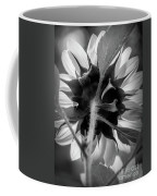 Black And White Sunflower 5 Coffee Mug