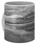 Black And White Talbot Lake Sunset Coffee Mug